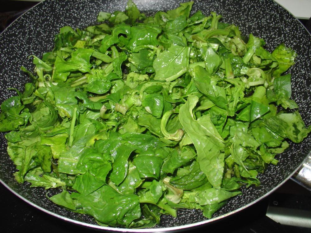 pasta con spinaci 1