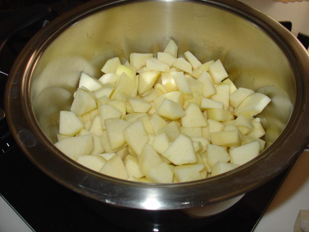 crostata con rose di mela