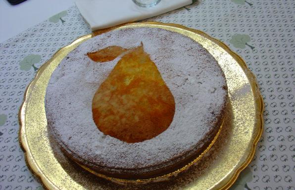 torta con pere
