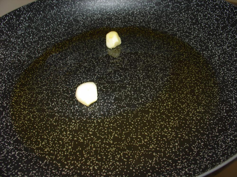 rosolare aglio