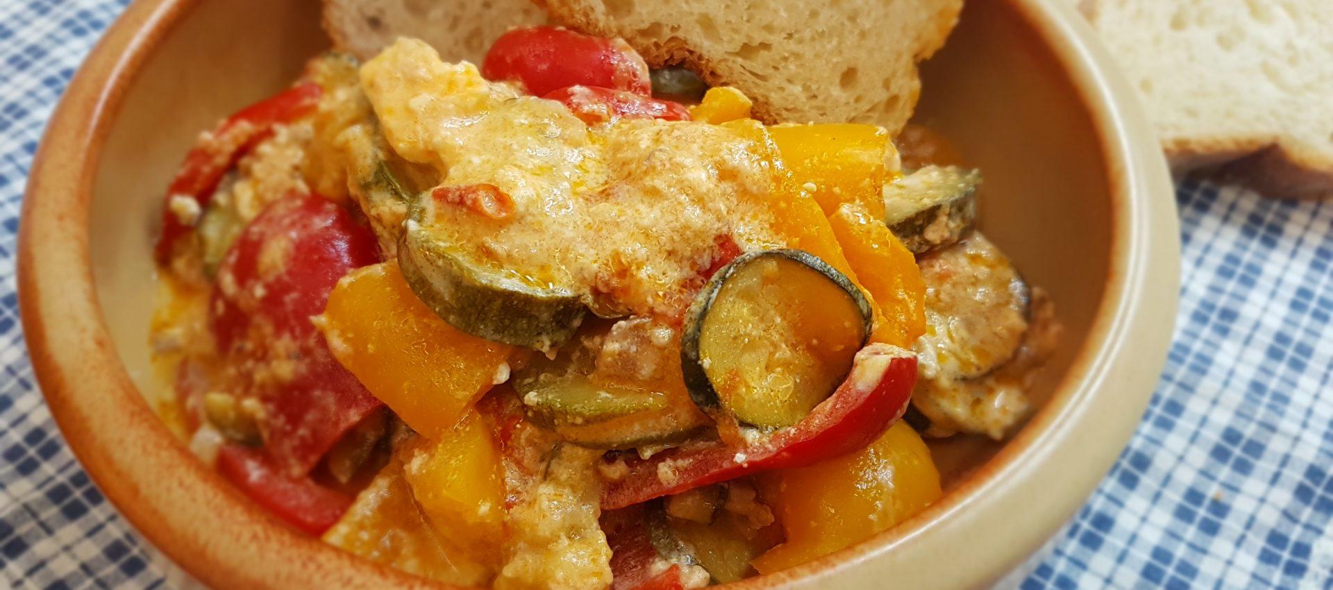 verdure con formaggi