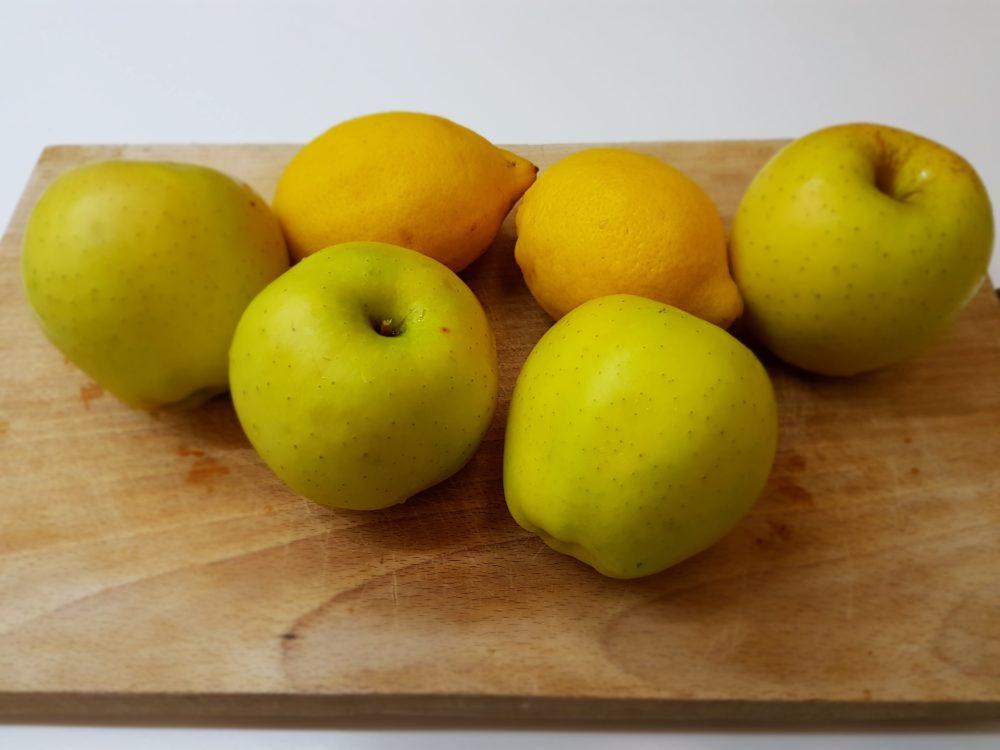 mele e limoni per pectina