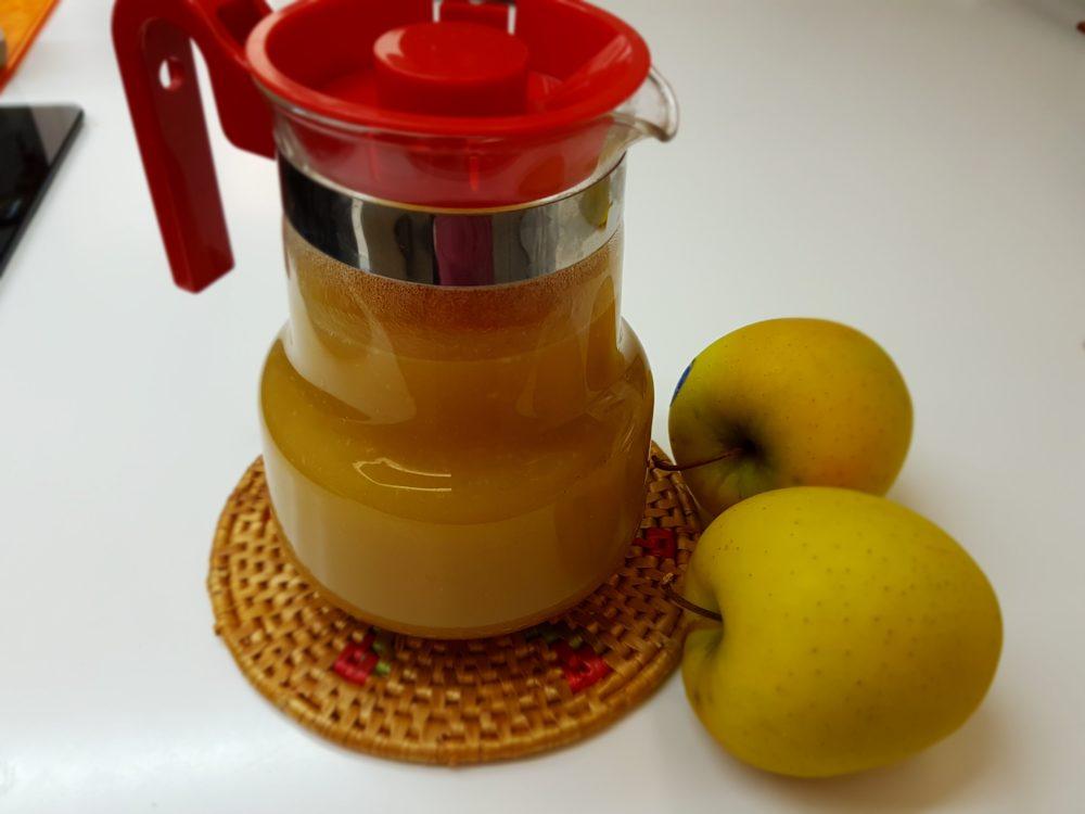 succo di mele recuperato