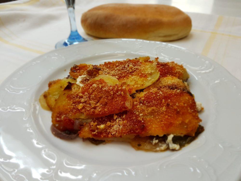 paparlicchi con patate al forno