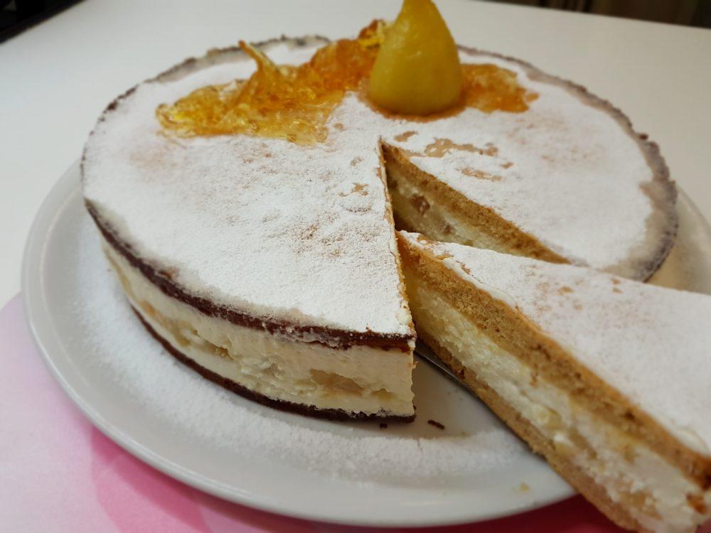 torta ricotta e pere Bimby