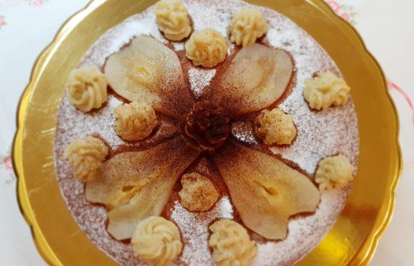 torta di pere