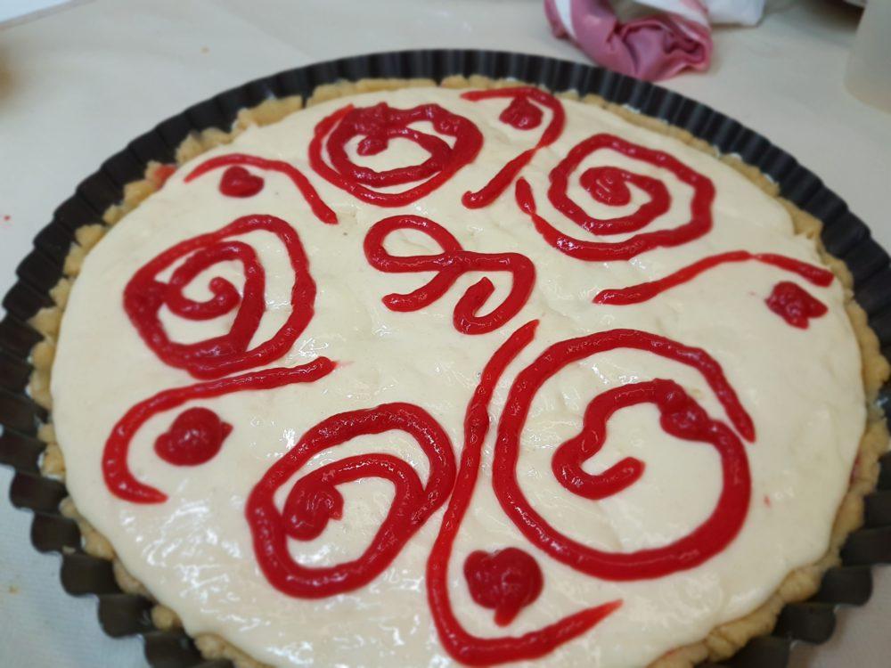 torta bimby con crema di fragole