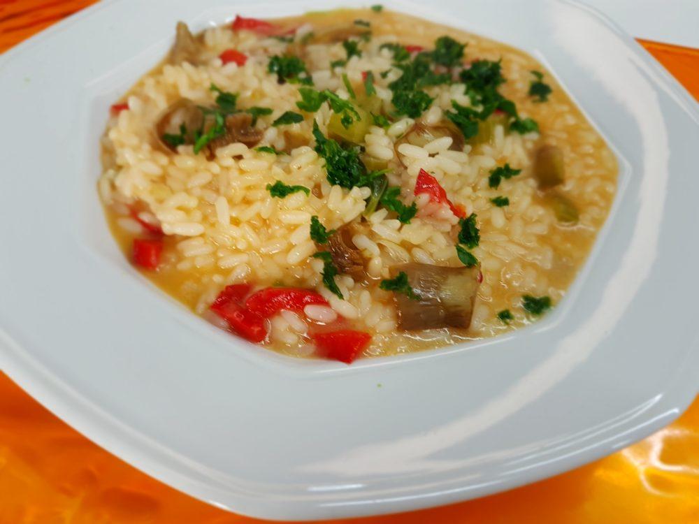 risotto con verdure bimby
