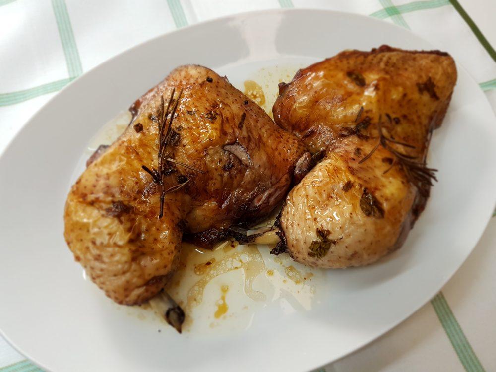 pollo marinato al vino nero