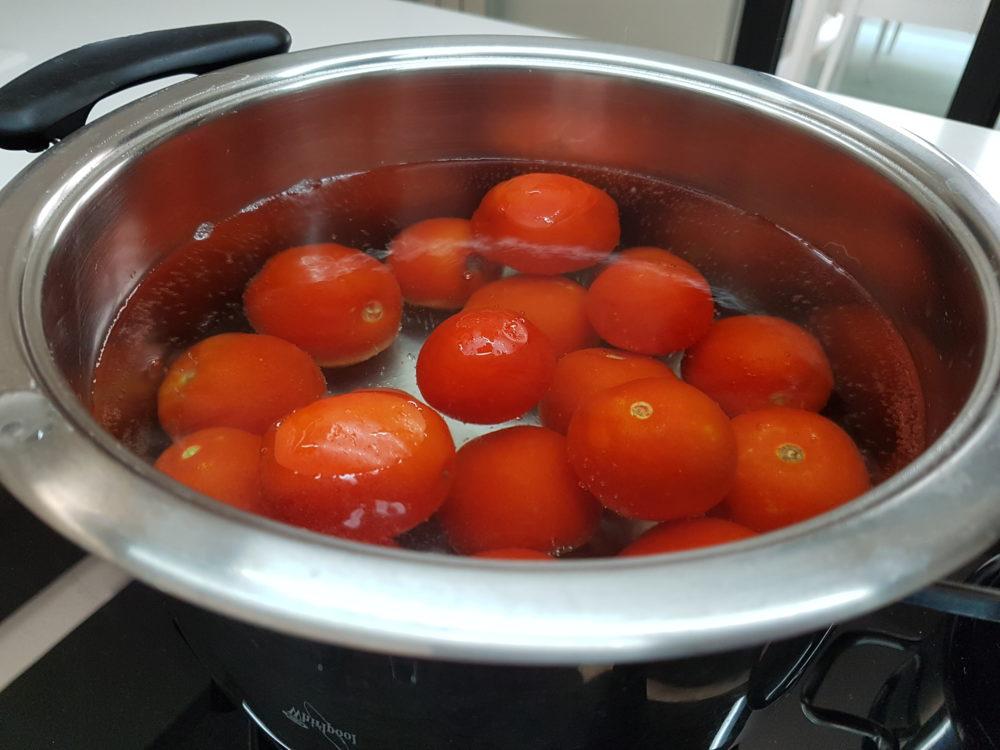 pomodori scottati