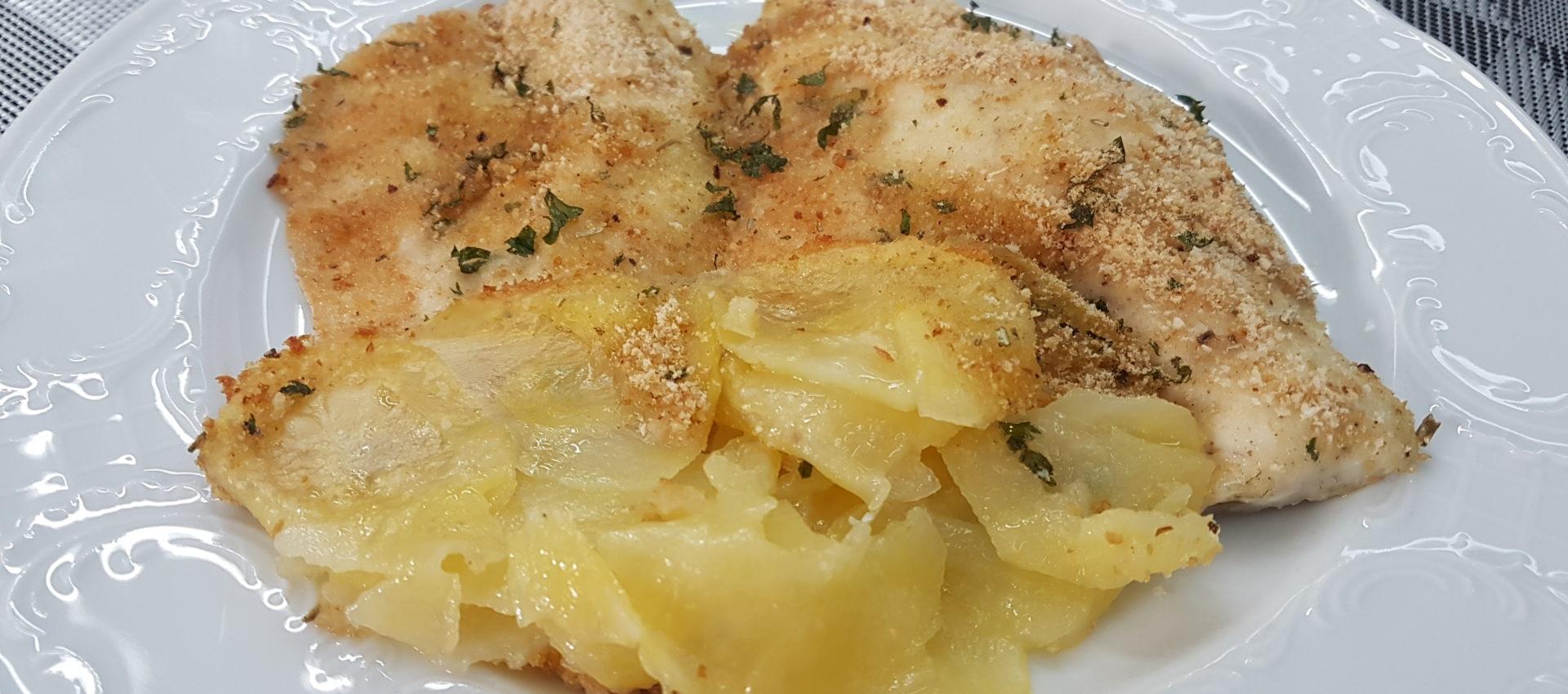 filetti di spigola con patate