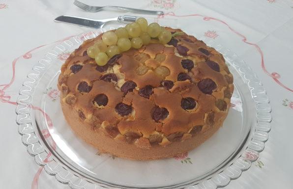 torta con uva bimby