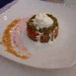 tortino con bucce di fave