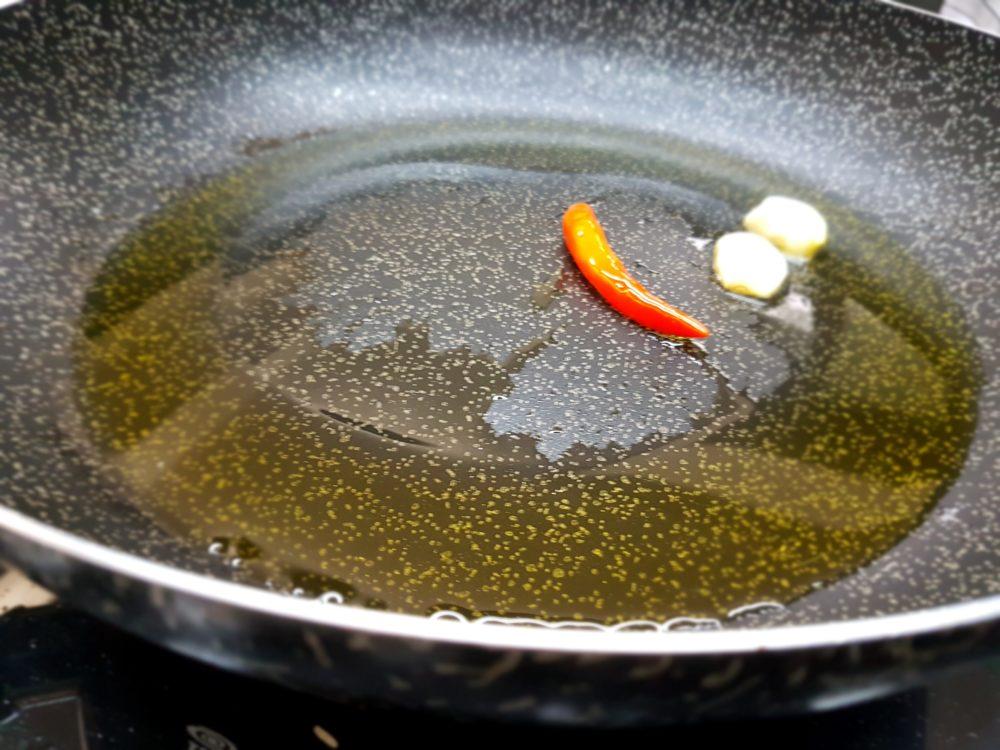 olio aglio peperoncino