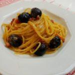 spaghetti al liquore meloncello
