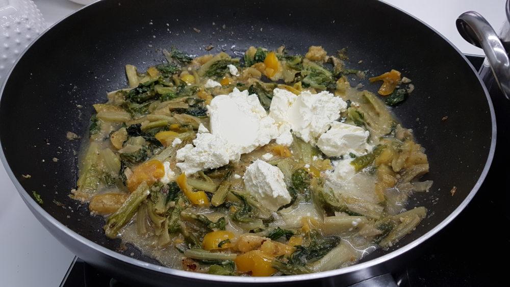 pasta con lattuga