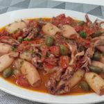 calamari con pomodoro