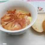 mortadella e purè di patate