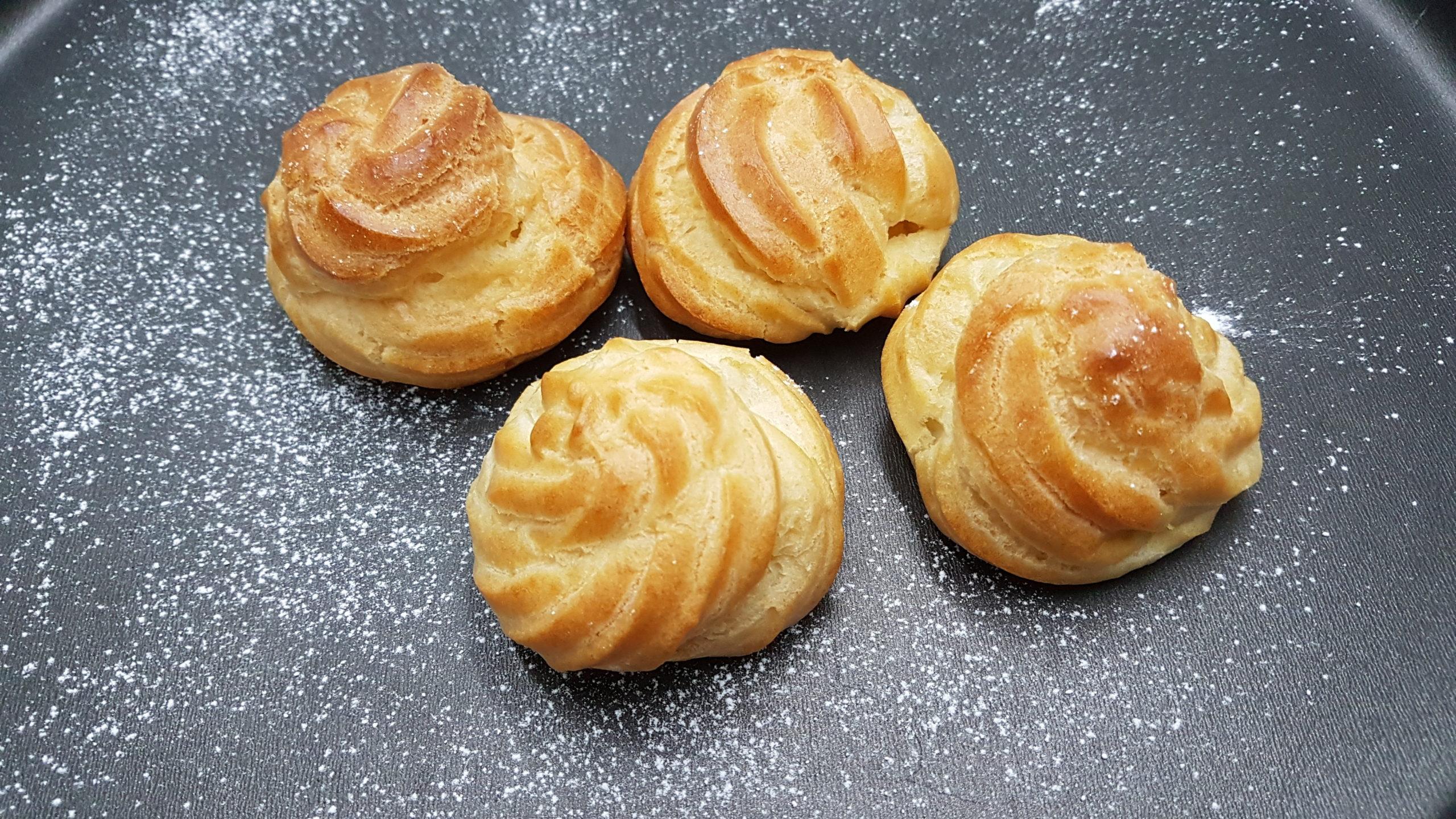 pasta choux per bignè perfetti