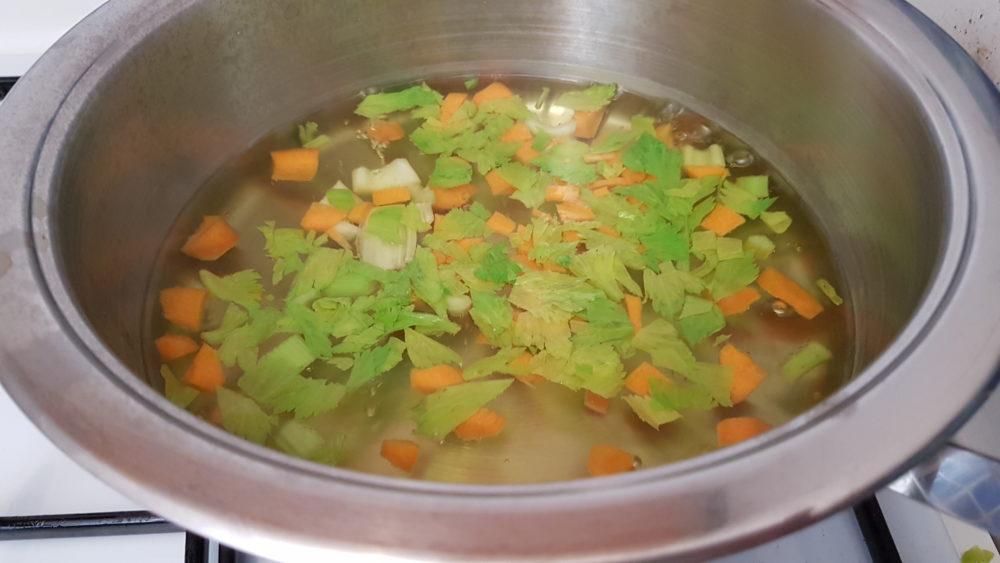sedano e carota